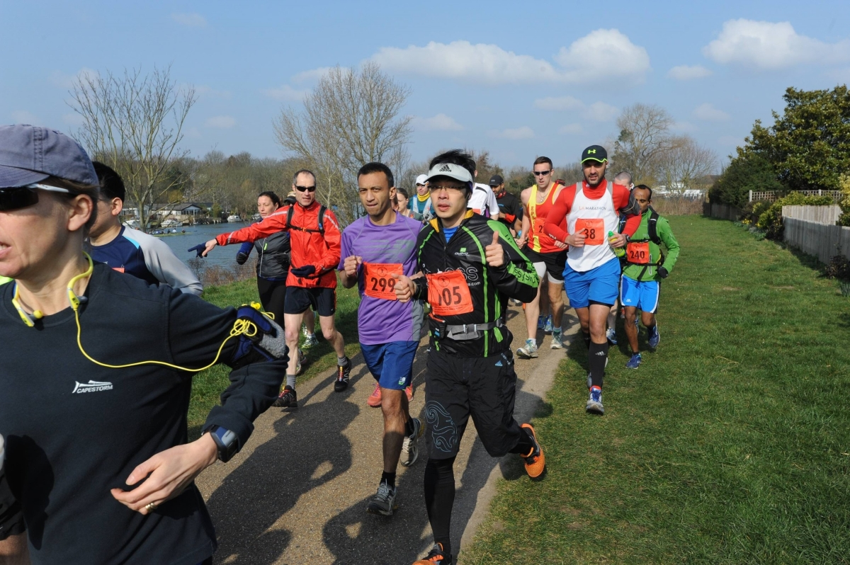 Race Report: Thames Meander Marathon [run] - 14.03.2015
